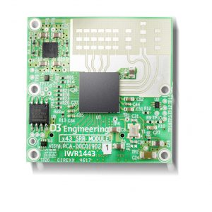 D3 Engineering Radar Module IWR1443